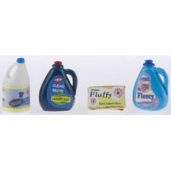 Laundry Detergent, Fabric Softener, and Dry Sheet