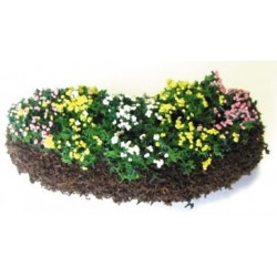Garden Delights w/Bed, Mixed Blossoms, 1:48 scale