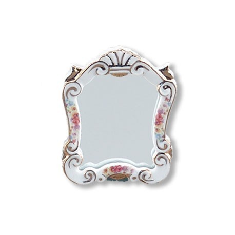 Dresden Rose Baroque Mirror
