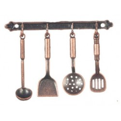 Kitch Hanging Utensils Iron