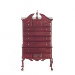 Mahogany Chippendale Chest On Chest