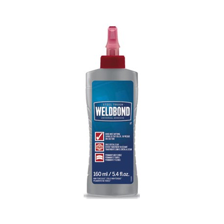 Weldbond Adhesive, Bottle, 160 mL / 5.4 oz