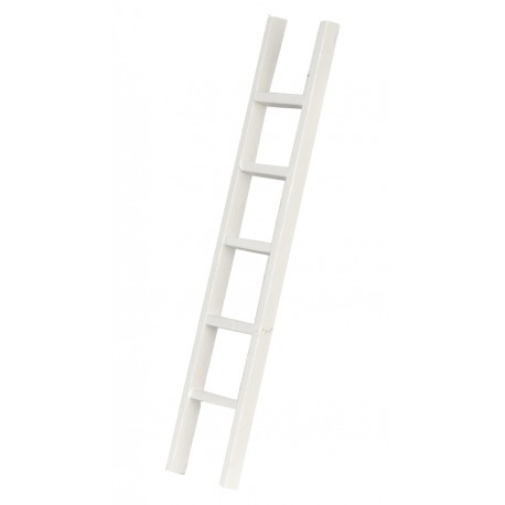 White Straight Ladder, 6 In