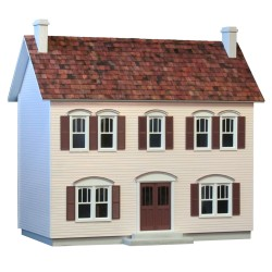 RGD Real Good Toys Oak Hollow Dollhouse Kit