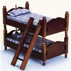Bunkbed  Walnut
