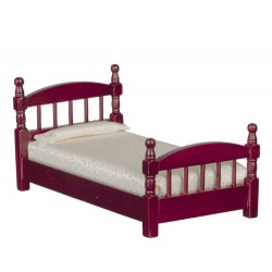 Single Bed Mahogany