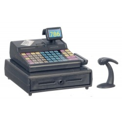 Modern cash Register w/Scanner