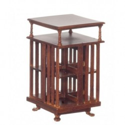 Mission Library Table Walnut