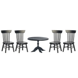 Round Table & Chairs Set
