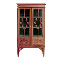 1780 China Cabinet Walnut