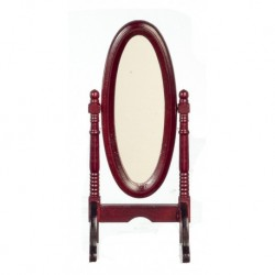 Cheval Mirror Mahogany