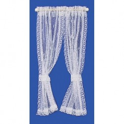 Curtains Lace White