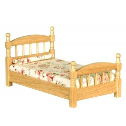 Single Bed Oak