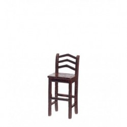 Bar Stool Mahogany