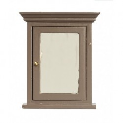 Vanity Mirror Brown