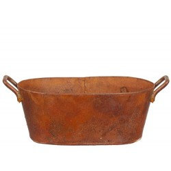 Oval Washtub Rust