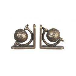 Small Globe Bookends 2pc