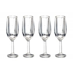 Champagne Glass Set 4pc