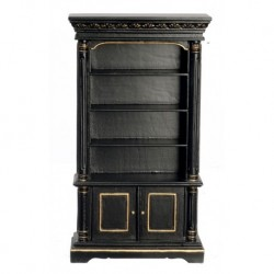 Bookcase Black & Gold
