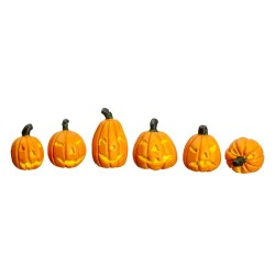 Haloween Pumpkins 6pc