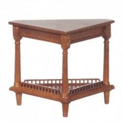 Corner Table Walnut