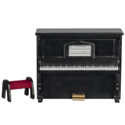 Upright Piano Black