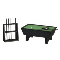 Pool Table Set 24 Black