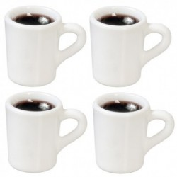 Coffee Mugs Small Set 4pc