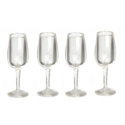 Champagne Glasses Set 4pc