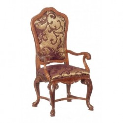 Castilian Carver Chair Walnut