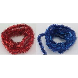 Tinsel Garland - 36 In. Assorted Colors 1-Piece