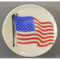 Waving Flag Plate