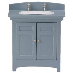 Miniature Sink Vanity, Gray