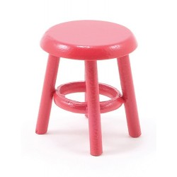 Miniature Stool, Red