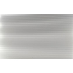 Tin Roof Panel, White, 12 X 16, 1/Pk