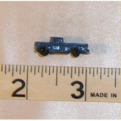 TOY PICKUP TRUCK, BLUE
