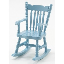 Rocking Chair, Soft Blue