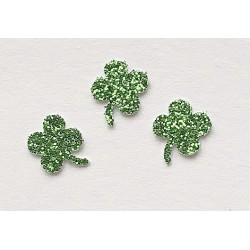 Shamrock Decorations, Approx 50