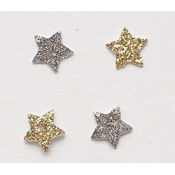 Gold and Silver Stars, Approx 50