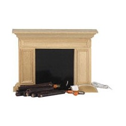 Americana Flickering Fireplace