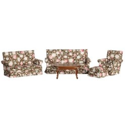 Floral Living Room Set/5