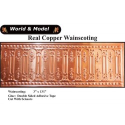 Copper Wainscoting