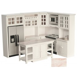Kitchen Set/8/white/marbl