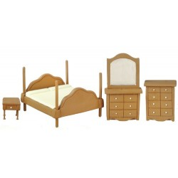 1/2in Bedroom Set/4/walnu