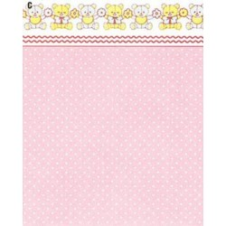 3 pack Wallpaper: Mini Dots, Pink