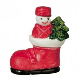Snowman In Boot