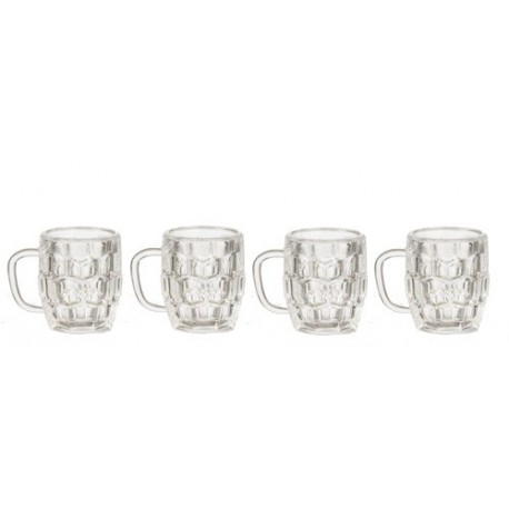Beer Mugs Set/4