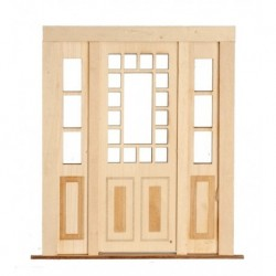 3 Pane Double Door