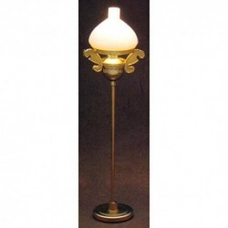 Vict. Floor Lamp- Gold