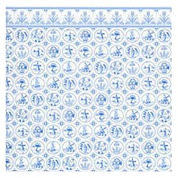 6 pack Wallpaper: Compact Dutch Tile